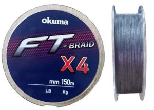 Шнур Okuma FT-BRAID-X4 150m 0.165