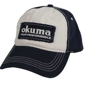 Кепка Okuma Full Back Two Tone Blue Patch Hat PA01C007B
