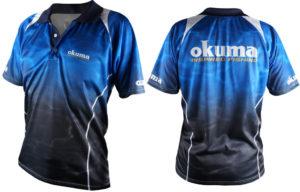 Футболка Okuma Blue Polo S 55012