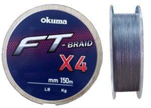 Шнур Okuma FT-BRAID-X4 150m 0.15