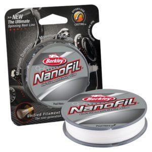 Леска Berkley Nanofil 0,10ММ 125М Clear Mist