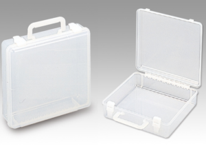 Коробка MEIHO 24 ATTACHE CLR  255×250×77mm