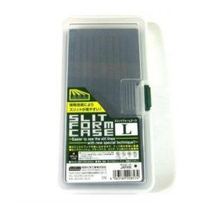 Коробка MEIHO SLIT FORM CASE L CLR 186x103x34 mm